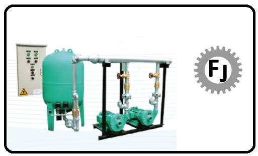 Sistemas de bombeo sistema de presión vari-press Flujotec