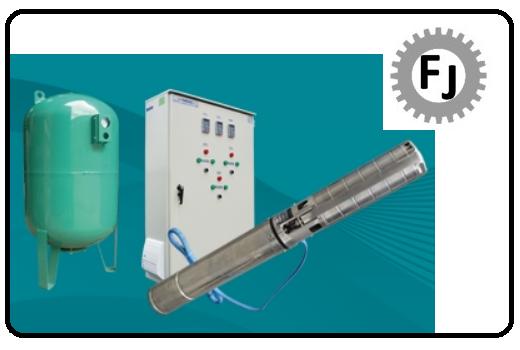 Sistemas de bombeo sistema de presión aqua-press pozo profundo Flujotec