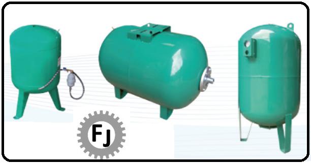 Sistemas de bombeo tanques hidroacumuladores Flujotec